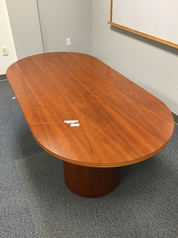 Paoli X Racetrack Style Conference Table Cherry Surplus - 72 x 36 conference table